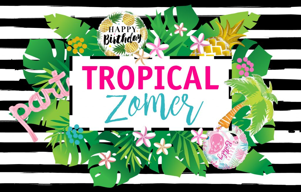 tropical zomer thema