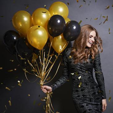 Ballonnen reclame