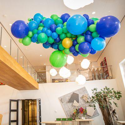 Organic ballondecoratie