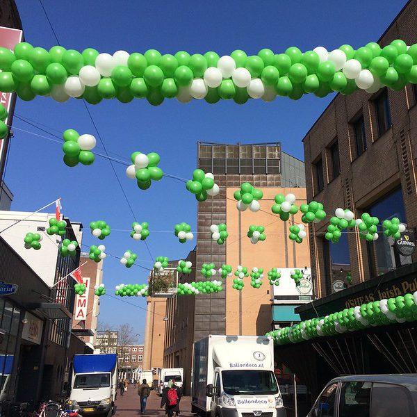 Ballonnen decoratie voor promotionele acties