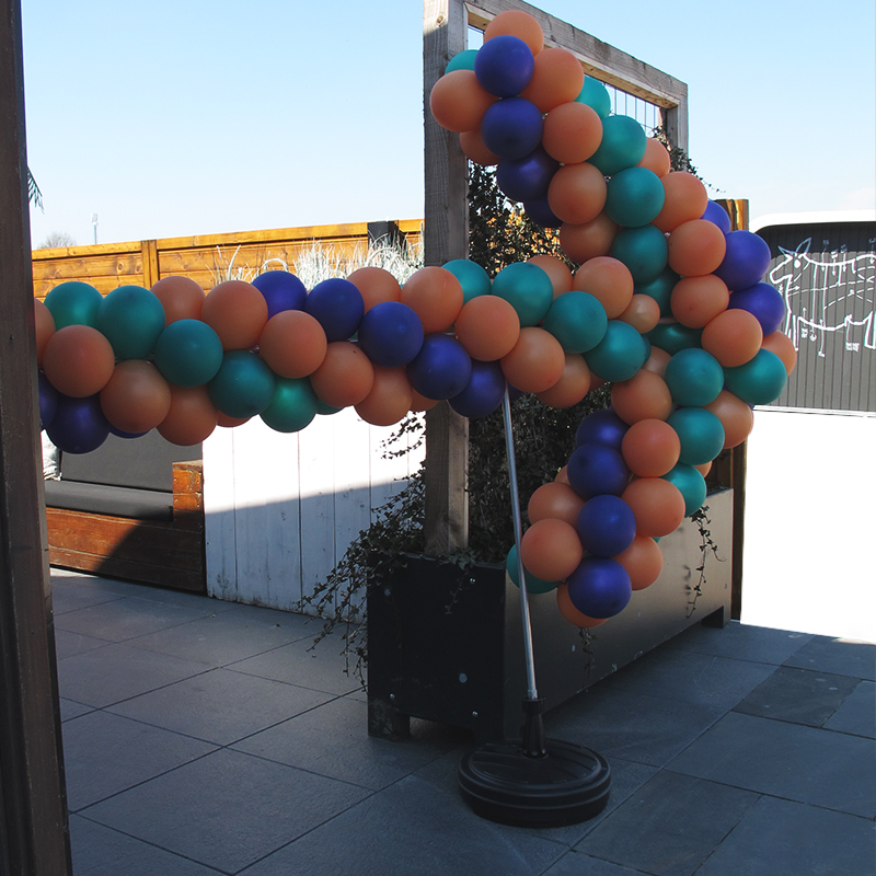 Ballonnen decoratie voor festivals