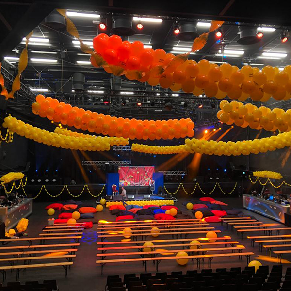 Ballonnen decoratie voor Corporate events