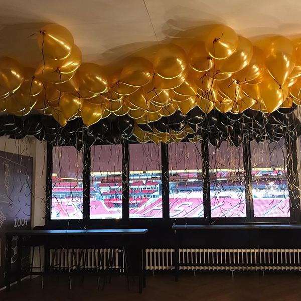 Ballonnen decoratie voor jubileumdagen
