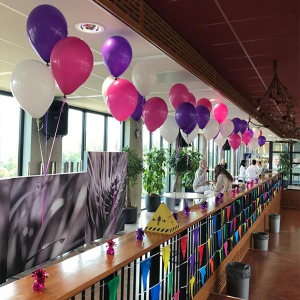Ballonnen decoratie voor voor open dagen