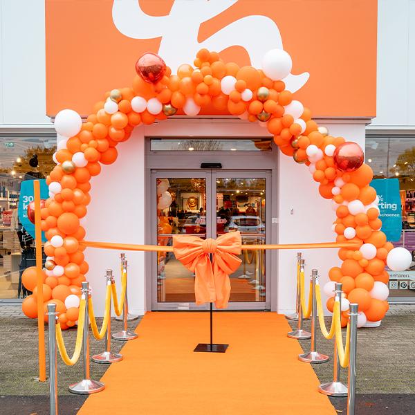 Ballonnen decoratie voor openingen