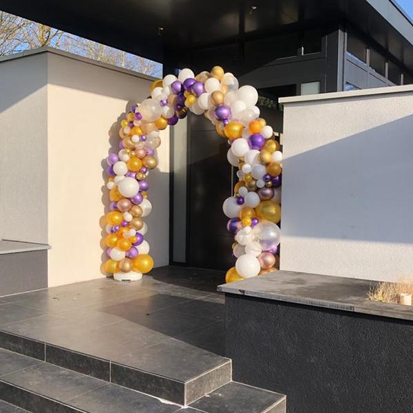 Ballonnen decoratie voor verjaardagen